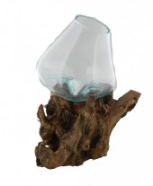P-H4.3 Glass on Wood Medium 34x22