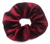 S-D2.2  H305-009T Velvet Scrunchie Purple
