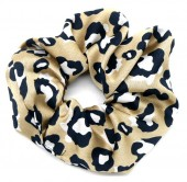 S-A7.1 H305-053A Scrunchie with Animal Print Gold