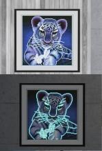 R-N6.2 YGSM39 Diamond Painting Full Set Glow In the Dark 35x25cm