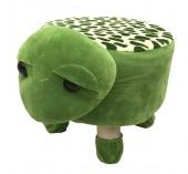 Y-E3.1 STOOL506-002 Plush Stool Turtle