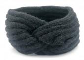 R-H4.1 H401-027A Soft Knitted Headband Black