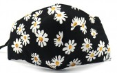 H-F10.1 FM042-004J17 Cotton Fashion Mask with Room for Filter Washable - Flowers