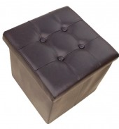 R-B4.1 STOOL506-003 Foldable Stool 38x36cm Brown