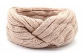 S-I2.1  H401-010B Knitted Headband Pink