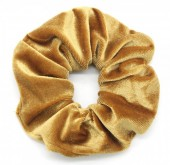 S-C6.4  H305-009 Scrunchie Velvet Gold
