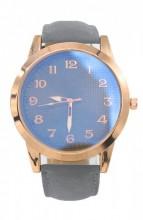 C-A15.2 WA204-001 Quartz Watch with PU Strap Rose Gold-Grey 50mm