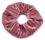 S-E7.4  H307-007C Scrunchie Rib Fabric Pink