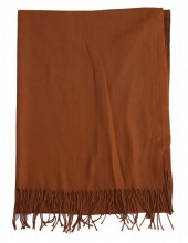 Z-C2.5 SCARF405-048C Soft Scarf 180x70cm Brown
