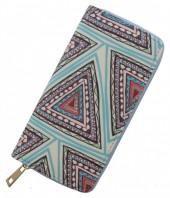Wallet Aztec 19x10cm