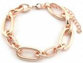 E-C7.5 B2019-015RG Metal Chain Bracelet Rose Gold