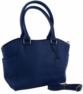 T-E1.2 BAG-788 Luxury Leather Bag 39x24x10cm Blue