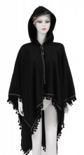Z-B3.2 SCARF409-033 Exclusive Hooded XL Scarf Black