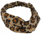 S-J1.4 H305-144A3 Headband Leopard Print Brown