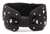 T-D2.2 H401-003B Headband with Crystals Brown