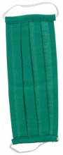S-A2.3 Fashion Mask - 2 Layers - Cotton - Machine Washable - Individually Packed - Green
