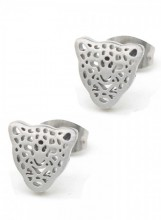 C-B4.2  E1842-010 Stainless Steel Studs Leopard Gold