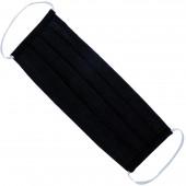 S-B3.4 Fashion Mask - 2 Layers - Cotton - Machine Washable - Individually Packed - Black
