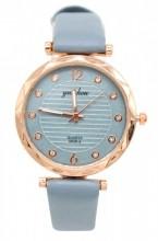 B-F8.2 W203-007 Quartz Watch with Pu Strap 30mm Blue