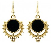 C-A19.5  E2019-031G Earrings 3x1.5cm Gold