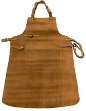 T-P7.1 Leather BBQ Apron 85x65cm Cognac