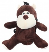 Y-B2.1 BAG416-001D Plush Backpack Monkey