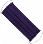 S-A5.2 Fashion Mask - 2 Layers - Cotton - Machine Washable - Individually Packed - Purple