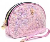 Y-F3.2 BAG200-016 Make Up Bag Shiny Pink