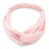 S-B6.1 H305-005 Headband Ribbed Pink