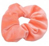S-E1.3 H305-009A12 Velvet Scrunchie Salmon Pink