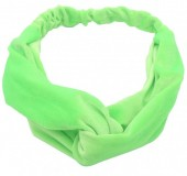S-D1.4 H305-060A8 Velvet Headband Bright Green