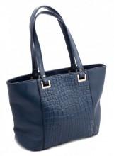 R-A5.1  Luxury Leather Bag 38x24cm Blue