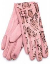 S-A3.2 GLOVE403-002D Gloves Shiny Snake Pink