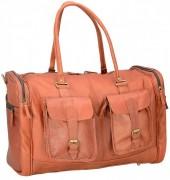 Z-D3.5 BAGI-035 Luxury Leather XL Travel-Sporting Bag 60x40x30cm