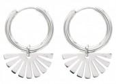 E-A5.1 E010-001S S. Steel Earrings 1.5x2cm