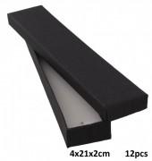 L-B4.1 Giftbox for Bracelet 4x21x2cm Black 12pcs