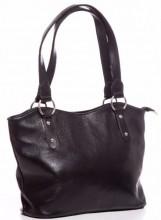 T-E6.1  BAG-553 Leather Bag 40x28x11cm Black