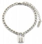 F-A7.3 BN2033-020AS S. Steel Bracelet with 16mm Lock  Silver