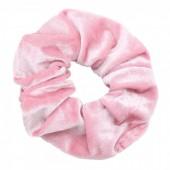 S-D6.1 H305-009 Scrunchie Velvet Pink
