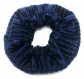 S-E1.4  H307-007E Scrunchie Rib Fabric Blue