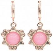 D-D19.3 E532-001R Fantasy Earrings Pink Rose Gold