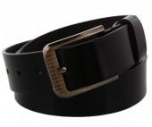 S-B6.3 Grain Leather Belt 3.3x110cm Adjustable 91-101cm