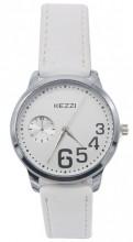 C-A7.5 K-1676 Quartz Watch with PU Strap 35mm White