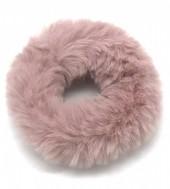 S-I1.2 H414-002 Scrunchie Fluffy Old Pink