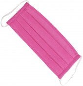 S-C2.3 Fashion Mask - 2 Layers - Cotton - Machine Washable - Individually Packed - Bright Pink