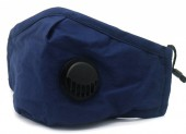 Y-A6.3  FM042-019C Face Mask - Individually Packed with room for Filter - Blue