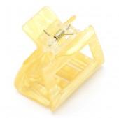 S-E2.2 H413-049C Hair Clip 5x3.5x4.5cm Yellow