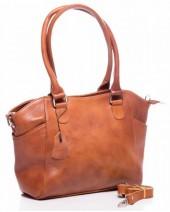 Q-G5.2 BAG-788 Luxury Leather Bag 39x24x10cm Cognac