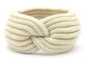 R-G3.2 H401-001L Knitted Headband Beige