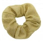 S-D6.2  H305-045H Glitter Scrunchie Gold